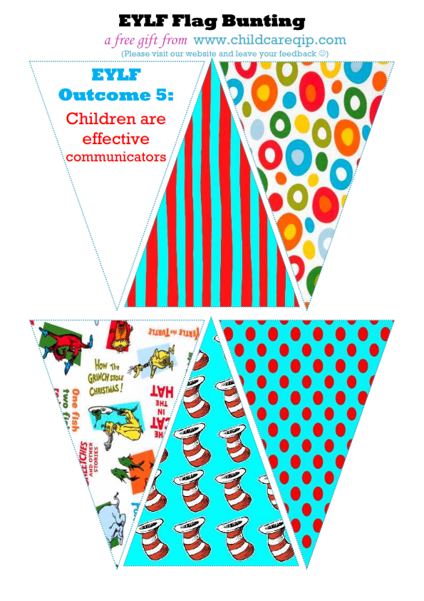 Download Your Free Eylf Flag Bunting Templates Here Star Wars